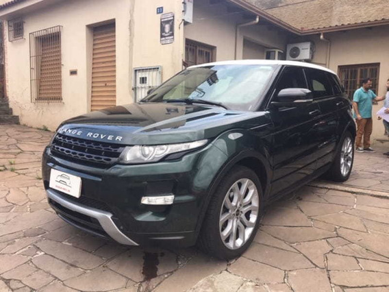 Land Rover Evoque Dynamique 2.0 16v 4wd Gasolina 2012