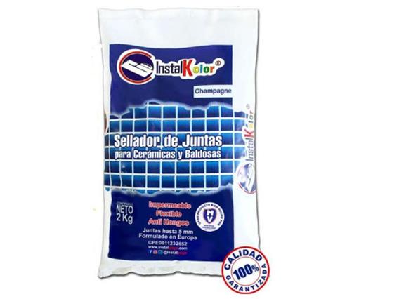 Sellador De Juntas/carato Instalkolor Negro Bolsa 2 Kg