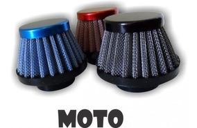 Filtro De Ar Esportivo 43mm Motos 150 E 200cc
