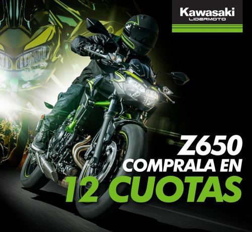 Kawasaki Z650- Z 650 Abs Lidermoto En Cuotas Sin Interés !