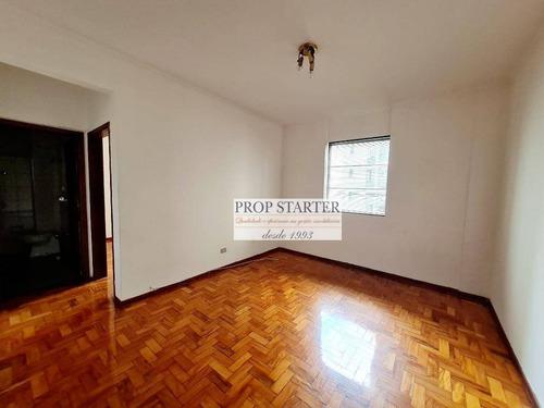 Imagem 1 de 13 de Apartamento Arejado E Bem Iluminado Com 1 Dormitório Para Alugar, 42 M² Por R$ 1.700/mês - Vila Buarque - Prop Starter Imóveis - Ap0861
