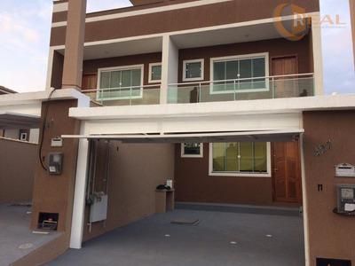 Excelente Casa Duplex No Vale Das Palmeiras De 03 Quartos - Ca0277