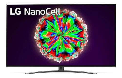"""Imagen 1 de 5 de Smart TV LG AI ThinQ 55NANO81UNA LED 4K 55"""" 100V/240V"""