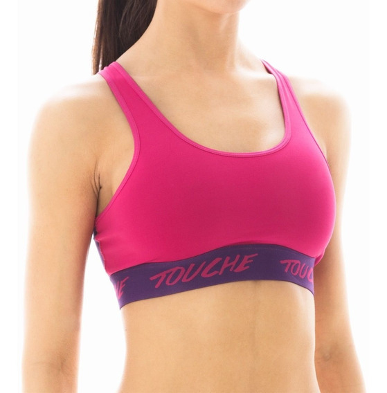 Top Elastico Mujer Deportivo Hyper Touche Fitness Running