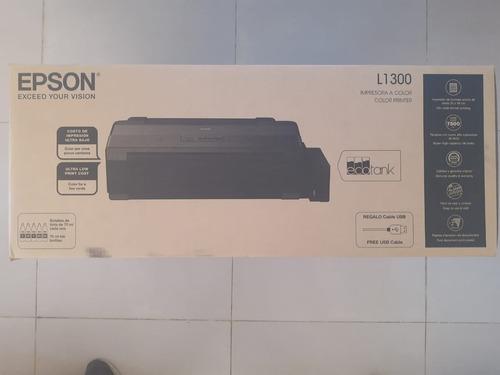 Impresora Epson L1300 Sistema Continuo Ecotank Formato A3