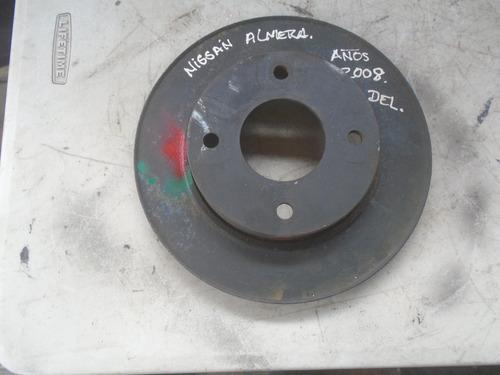 Vendo Disco De Freno Delantero De Nissan Almera, Año 2008