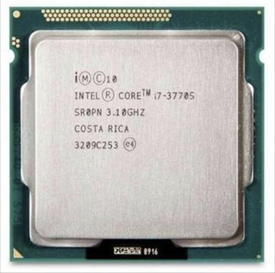 Processador Intel Core i7-3770S 4 núcleos 32 GB