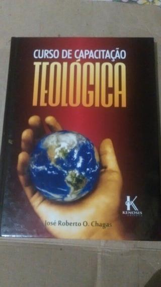 Livro De Curso De Capacitação Teologica + Manual Iniciante