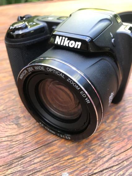 Câmera Semi Profissional Nikon L340