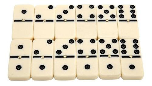 Set De Domino Fichas Grandes 28 Piezas Diversión Juego