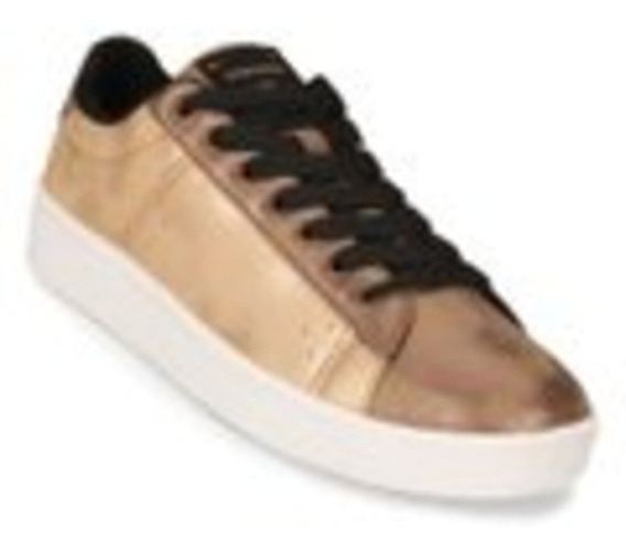 Zapatilla Topper By Benito Candy Faded Bronce Moda Dama
