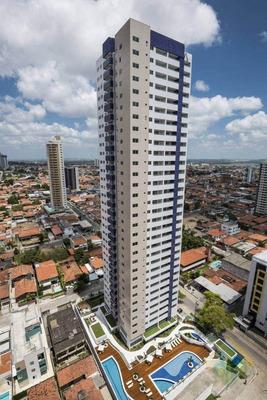Lançamento! - Apartamento Com 3 Dormitórios À Venda, 121 M² Por R$ 901.673 - Bairro Dos Estados - João Pessoa/pb - Cod Ap0853 - Ap0853