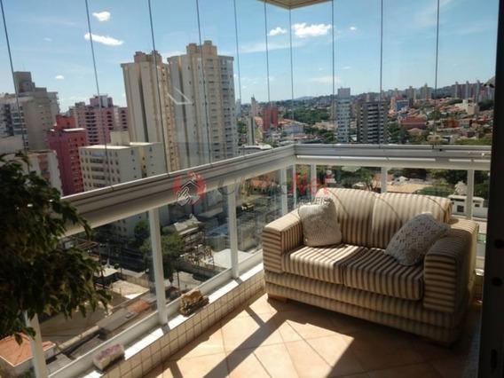 Apartamento Lindo No Centro De São Bernardo Todo Mobiliado, 3 Dormitórios, Sendo 3 Suítes, 4 Vagas Determinadas, 139m² De Área Útil - 3831