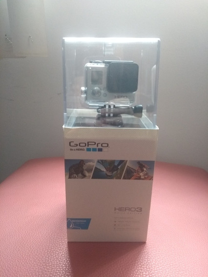 Go Pro Hero 3 + Micro Sd Kingston 32 Giga + Haste Removível