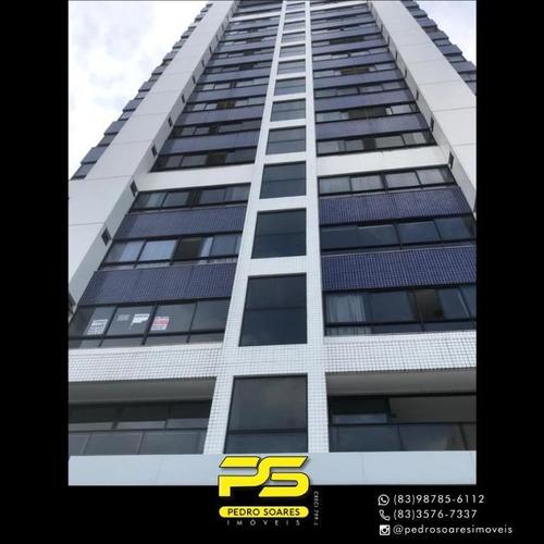 Apartamento Com 3 Dormitórios À Venda, 144 M² Por R$ 580.000 - Manaíra - João Pessoa/pb - Ap4336