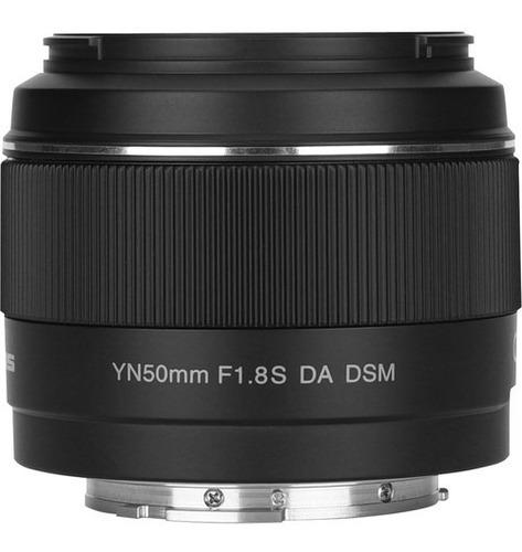 Lente Yongnuo Yn 50mm F/1.8s Da Dsm P/ Sony - Top 1