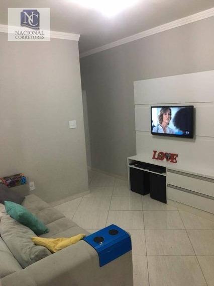 Apartamento Com 2 Dormitórios À Venda, 50 M² Por R$ 230.000,00 - Parque Oratório - Santo André/sp - Ap6369