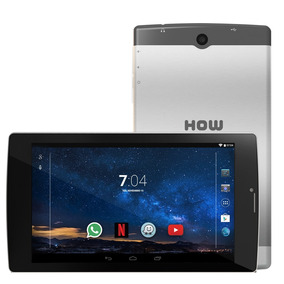 Tablet 3g 2 Chip Dual Sim How 8gb Wifi Gps 704g Cor Prata