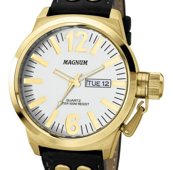 Relógio Masculino Magnum Original C/ Nota Fiscal Sk53