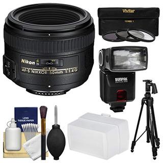 Nikon Lente Nikkor Af-s De 50 Mm F 1.4g