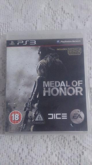 Jogo Ps3 Medal Of Honor Midia Fisica Original