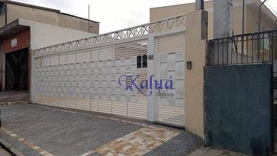 Sobrado Residencial À Venda, Ponte Rasa, São Paulo. - So0529