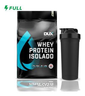 Whey Isolado 1,8kg - Dux Nutrition + Brinde - Black Skull