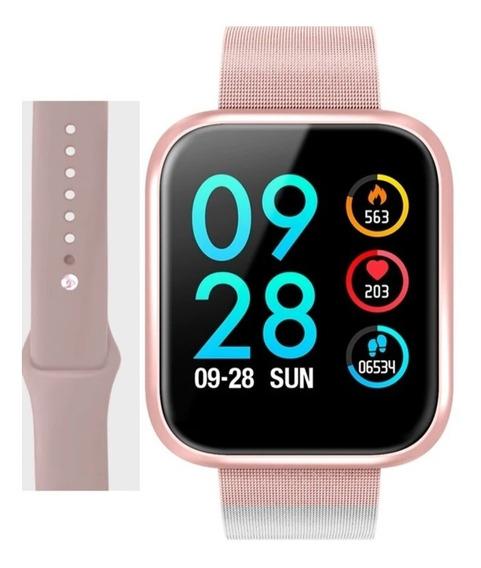 Smartwatch P70 Pro Leydor V2 I5 + Pulseira De Silicone Extra
