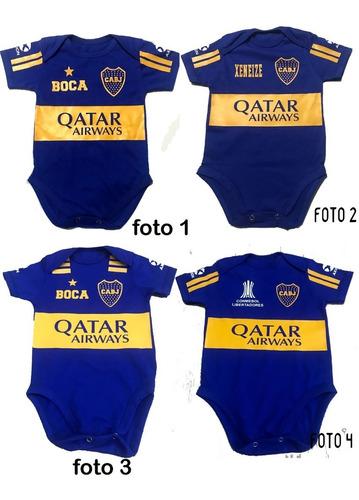 Bodys Bebé Boca Juniors Personalizado
