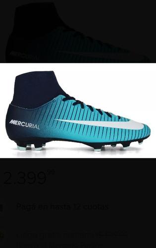 547c6fb24 Botines Nike Mercurial Futbol 5 - Botines Nike para Adultos Agua en ...