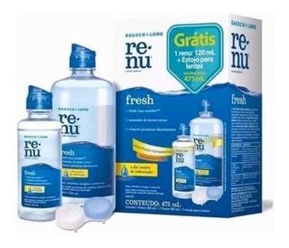 Liquido Para Lentes De Contacto Renu Fresh Pack Kit 457ml