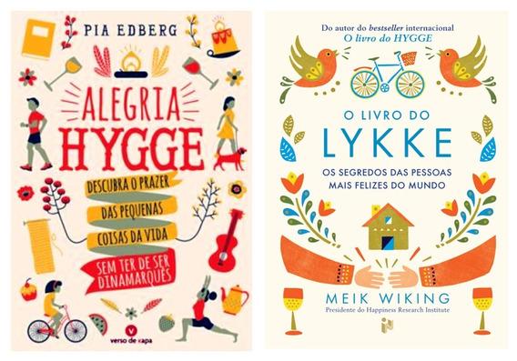 Livros Cozy Life Bem-estar Hygge & Lykke Top + Frete Grátis
