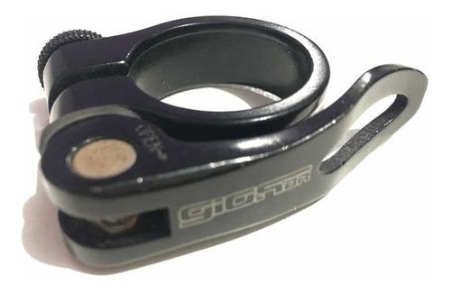 Imagem 1 de 3 de Blocagem Abraçadeira Canote Selim Gios 31,8mm Preta