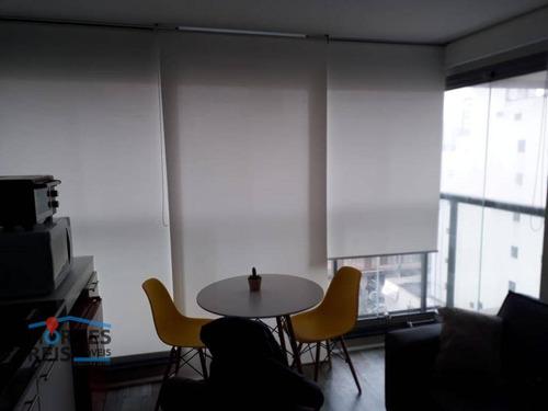 Studio À Venda, 29 M² Por R$ 410.000,00 - Vila Cordeiro - São Paulo/sp - St0096