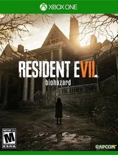 Videojuego Resident Evil 7 - Xbox One + Envió Gratis