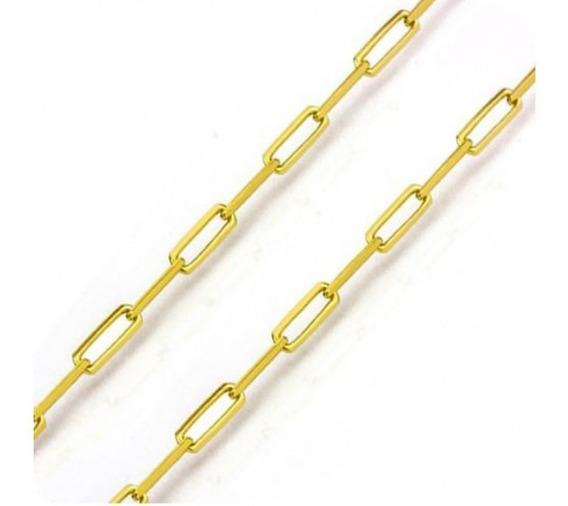 Corrente Cartier Longa 60 Cm Ouro 18k Jsp1853
