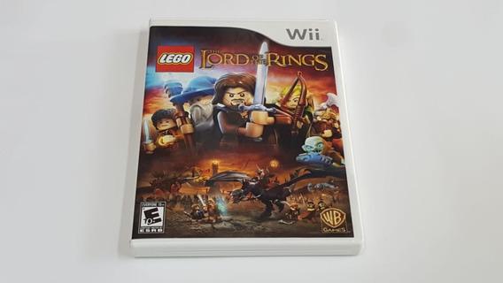 Jogo Lego O Senhor Dos Anéis - Nintendo Wii - Original