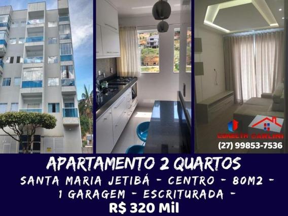 Apartamento Para Venda Em Santa Maria De Jetibá, Centro, 2 Dormitórios, 1 Suíte, 2 Banheiros, 1 Vaga - 101108