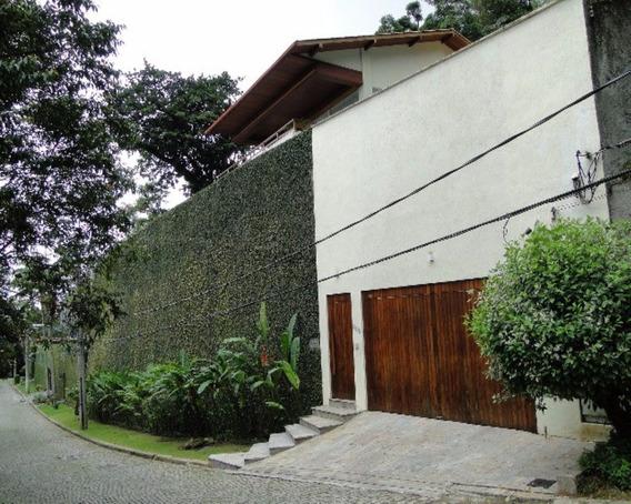 Casa De Luxo Com Vista Para Morro Dois Irmãos E Praia De São Conrado, 05 Quartos - Ca-sc-001