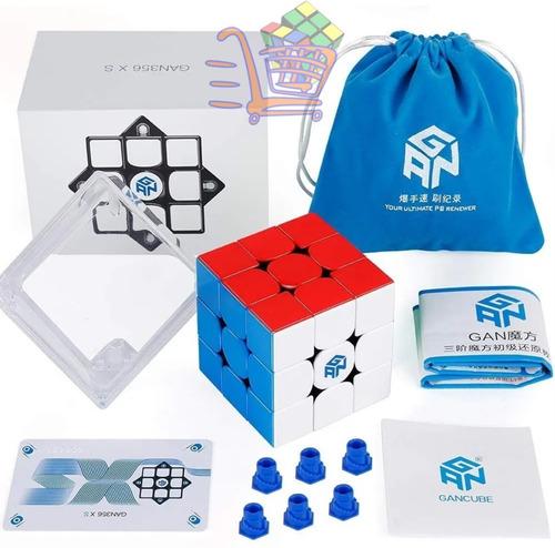 Cubo Mágico 3x3x3 Gan 356 X S Magnético Profissional Gans