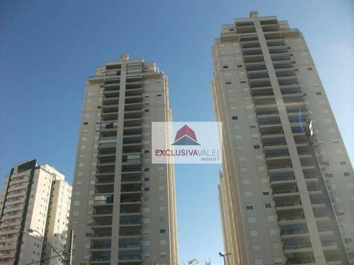 Apartamento Com 2 Dormitórios À Venda, 116 M² Por R$ 880.000 - Jardim Aquarius - São José Dos Campos/sp -  Premiere - Ap1999