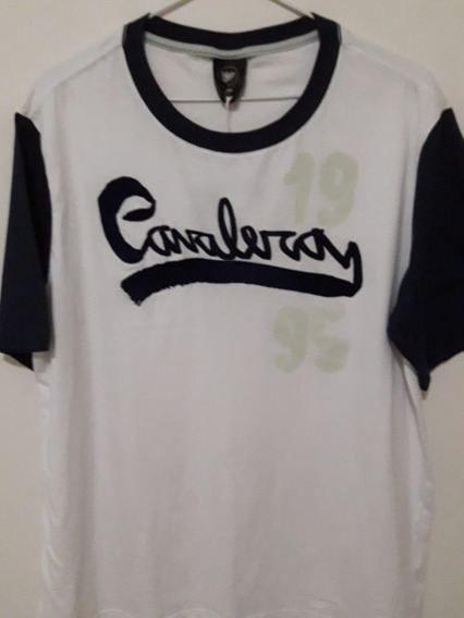 Camiseta Cavalera Modelo College Nova ( Tamanho G )