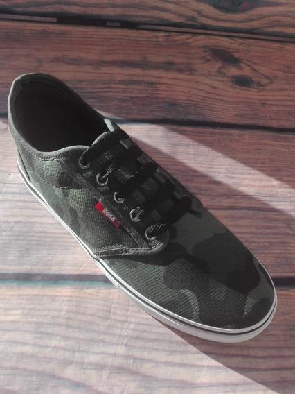 Zapatillas Acordonadas Camufladas