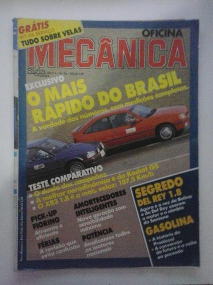Revista Oficina Mecânica - N° 36 - Frete Grátis