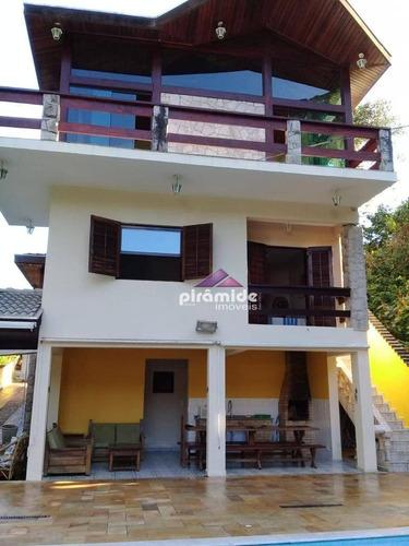 Casa Com 4 Dormitórios À Venda, 490 M² Por R$ 1.180.000,00 - Park Imperial - Caraguatatuba/sp - Ca6266