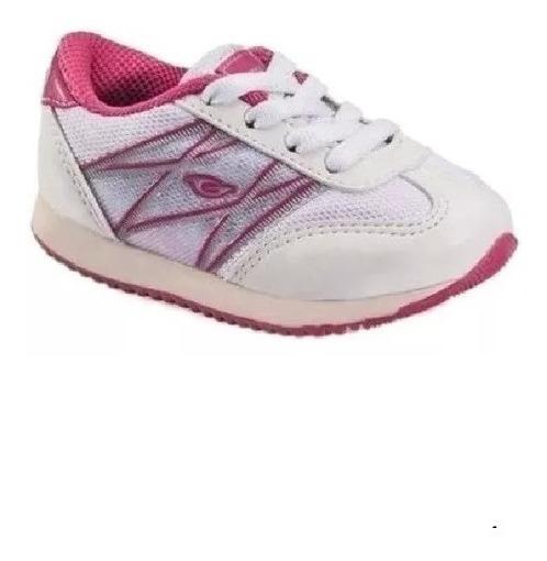 Zapatilla Gaelle 2384 B Training Baby Boo/ Blanco Rosa