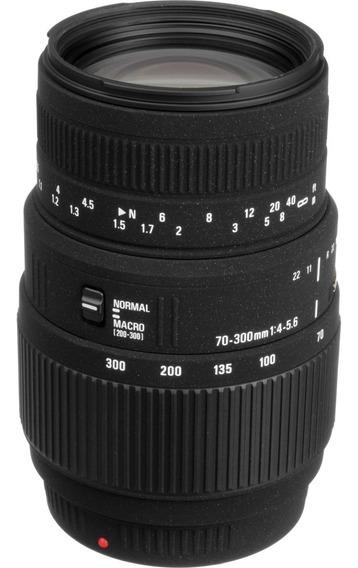 Lente Macro Sigma 70-300mm F / 4-5,6 Dg Para Sony A Minolta