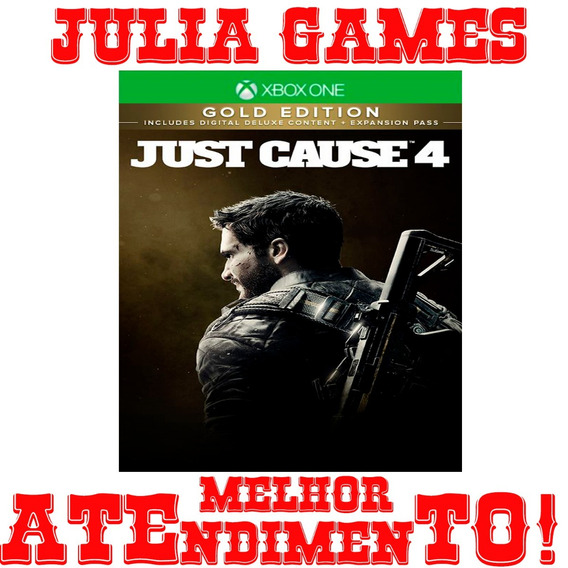Just Cause 4 Gold Edition Xbox One Digital Offline + Brinde