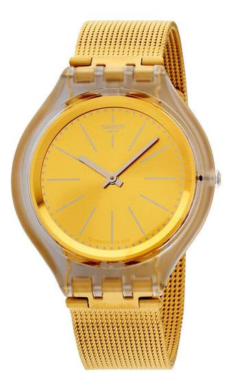 Relógio Masculino Swatch Svuk101m Aço Inoxidável