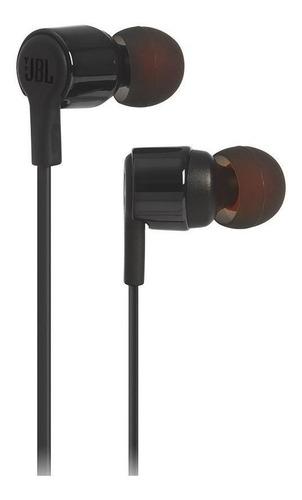 Fone de ouvido In-ear JBL Tune T210 preto
